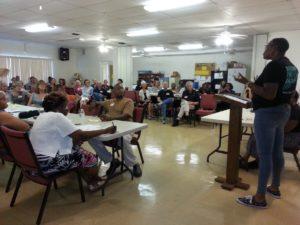 trauma-informed community meeting